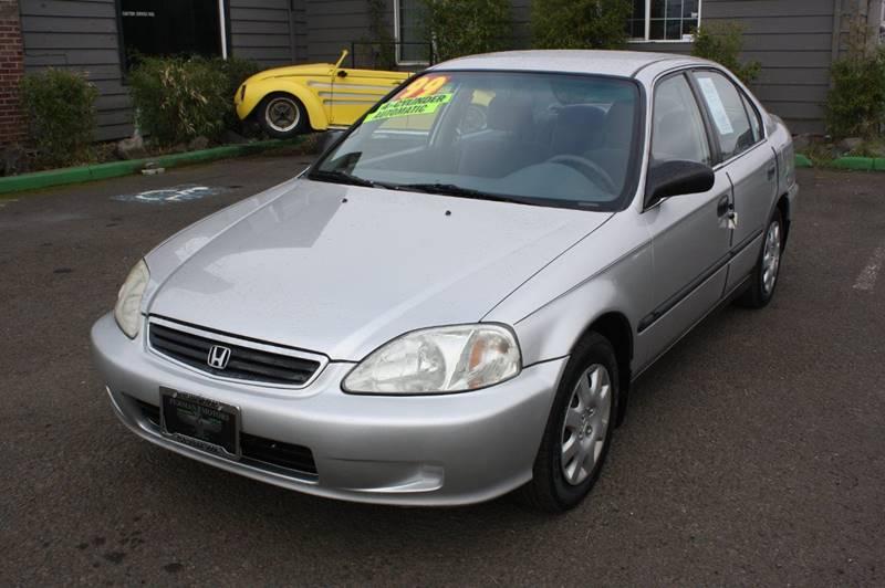 1999 Honda Civic Lx >> 1999 Honda Civic Lx 4dr Sedan In Cornelius Or Persian Motors