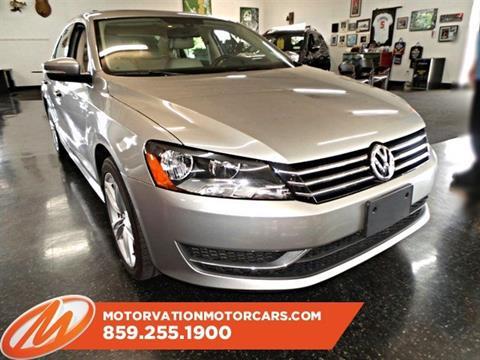 2014 Volkswagen Passat for sale in Lexington, KY