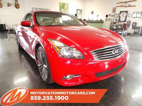 2011 Infiniti G37 Convertible for sale in Lexington, KY
