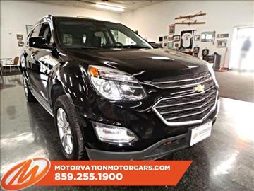 2016 Chevrolet Equinox for sale in Lexington, KY