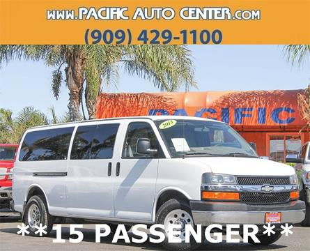 2013 Chevrolet Express Passenger for sale in Fontana, CA