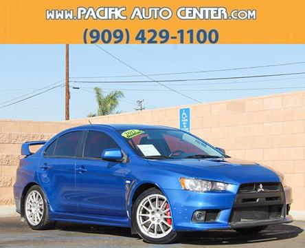 2012 Mitsubishi Lancer Evolution for sale in Fontana, CA