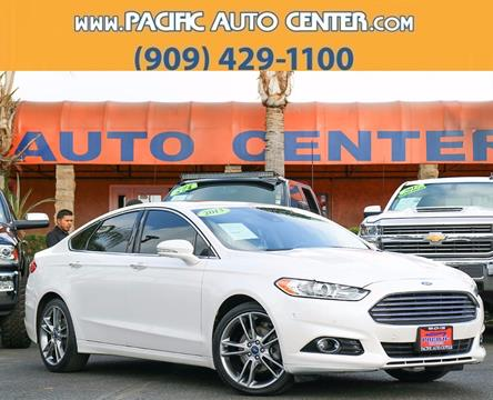 2013 Ford Fusion for sale in Fontana, CA