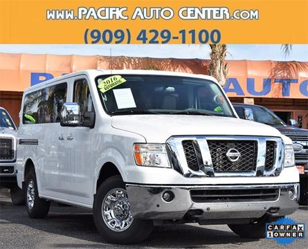 2016 Nissan NV Passenger for sale in Fontana, CA