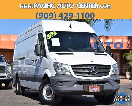 2015 Mercedes-Benz Sprinter Cargo for sale in Fontana, CA