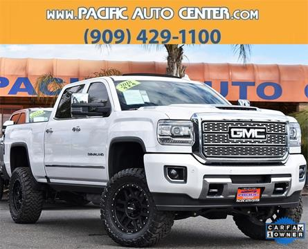 2018 GMC Sierra 2500HD for sale in Fontana, CA