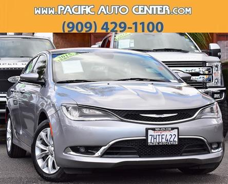 2015 Chrysler 200 for sale in Fontana, CA