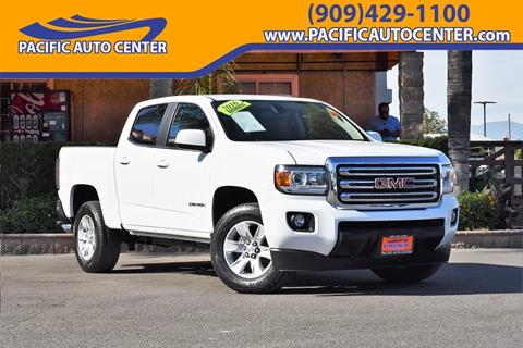 2016 GMC Canyon for sale in Fontana, CA