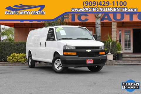 2018 Chevrolet Express Cargo for sale in Fontana, CA