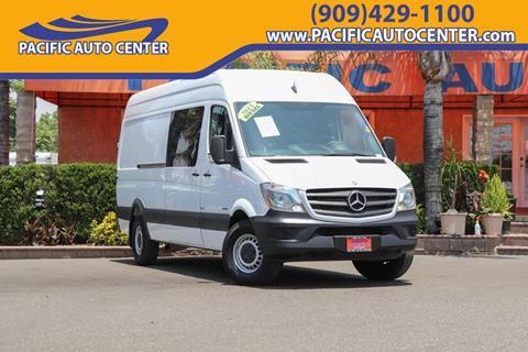 2015 Mercedes-Benz Sprinter Crew for sale in Fontana, CA