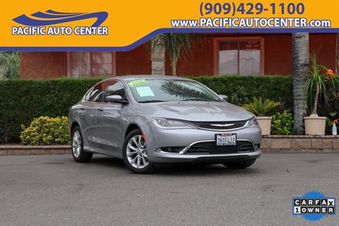 2015 Chrysler 200 For Sale >> Used Chrysler 200 For Sale Carsforsale Com