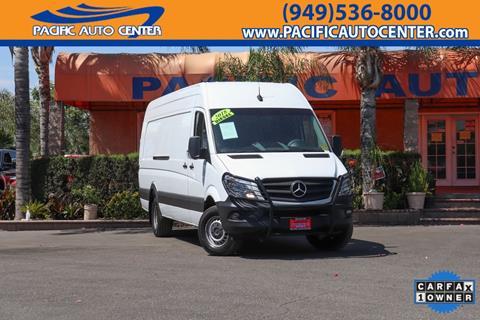 2018 Mercedes-Benz Sprinter Cargo for sale in Fontana, CA