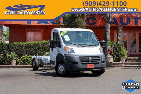 2018 RAM ProMaster Cab Chassis for sale in Fontana, CA
