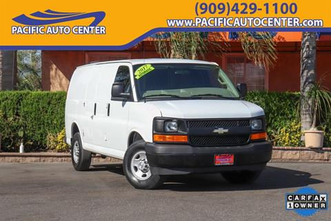 2017 Chevrolet Express Cargo for sale in Fontana, CA