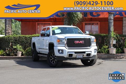 2016 GMC Sierra 2500HD for sale in Fontana, CA
