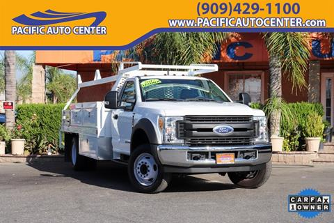 2017 Ford F-550 Super Duty for sale in Fontana, CA