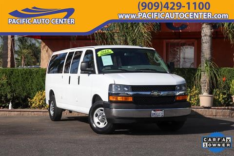 2018 Chevrolet Express Passenger for sale in Fontana, CA