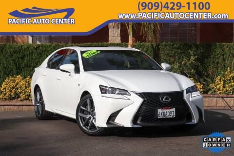 Pacific Auto Center >> 2017 Lexus Gs 350 For Sale In Fontana Ca
