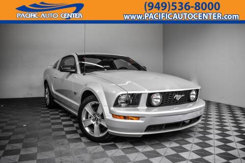 2007 Ford Mustang GT Deluxe for sale at Pacific Auto Center in Fontana CA