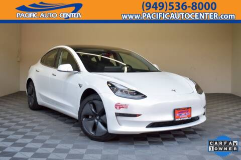 2018 Tesla Model 3 Long Range for sale at Pacific Auto Center in Fontana CA