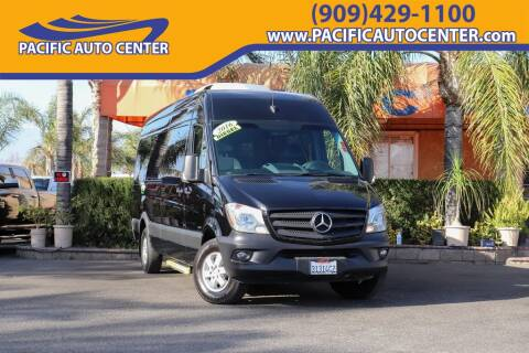2016 Mercedes-Benz Sprinter Passenger 2500 for sale at Pacific Auto Center in Fontana CA