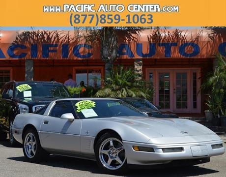 1996 Chevrolet Corvette for sale in Fontana, CA