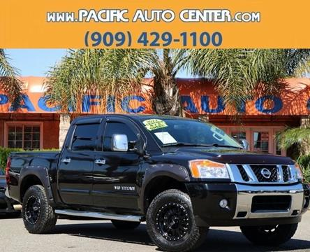 2014 Nissan Titan for sale in Fontana, CA