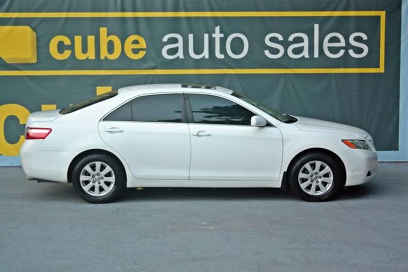 2008 toyota camry xle v6 4dr sedan 6a in houston tx cube auto sale. Black Bedroom Furniture Sets. Home Design Ideas