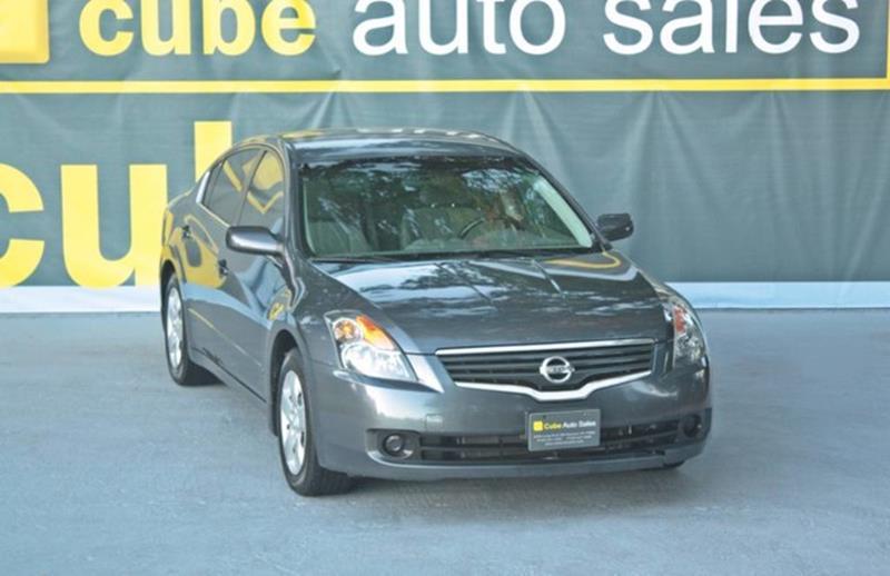 2008 Nissan Altima 25 S In Houston Tx Cube Auto Sale