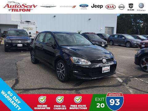2017 Volkswagen Golf for sale in Tilton, NH