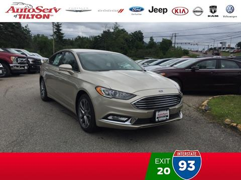 2017 Ford Fusion for sale in Tilton, NH