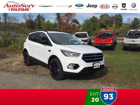 2018 Ford Escape for sale in Tilton, NH