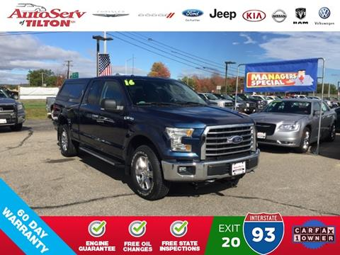 2016 Ford F-150 for sale in Tilton, NH
