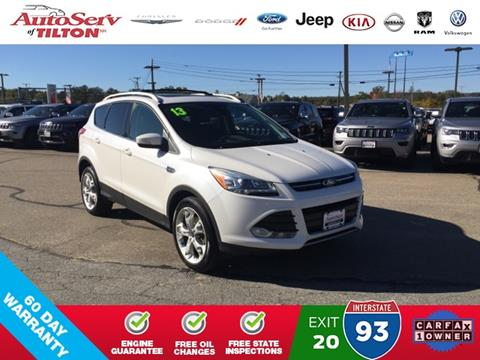 2013 Ford Escape for sale in Tilton, NH