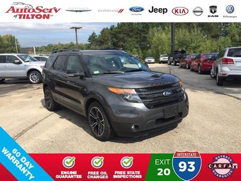 2015 Ford Explorer for sale in Tilton, NH