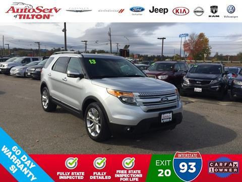2013 Ford Explorer for sale in Tilton, NH
