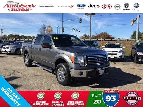 2012 Ford F-150 for sale in Tilton, NH