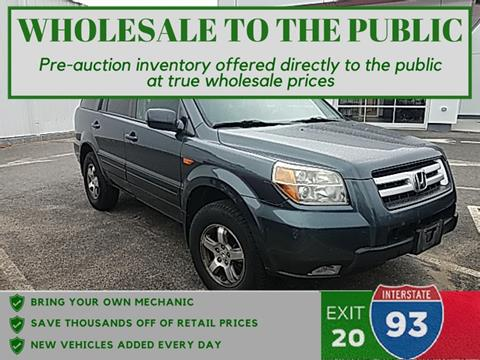 2006 Honda Pilot for sale in Tilton, NH