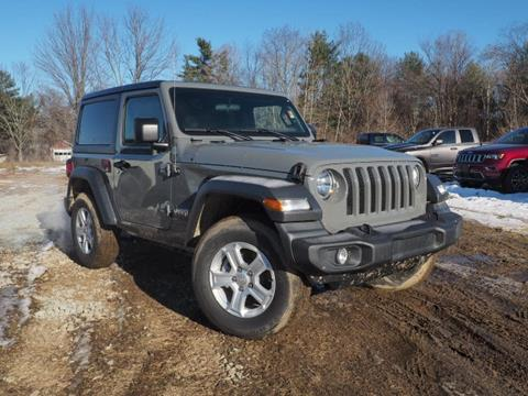 2018 Jeep Wrangler for sale in Tilton, NH