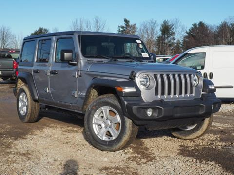 2018 Jeep Wrangler Unlimited for sale in Tilton, NH
