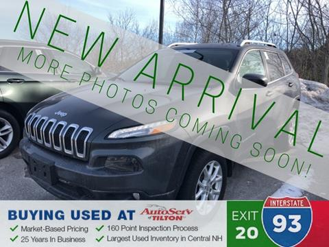 2014 Jeep Cherokee for sale in Tilton, NH