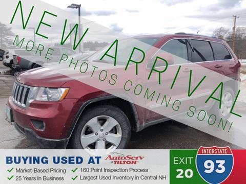 2013 Jeep Grand Cherokee for sale in Tilton, NH