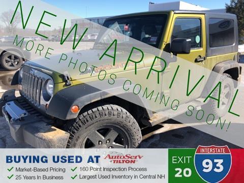 2010 Jeep Wrangler for sale in Tilton, NH