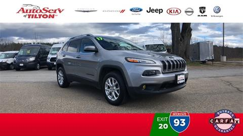 2017 Jeep Cherokee for sale in Tilton, NH