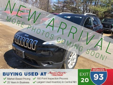 2016 Jeep Cherokee for sale in Tilton, NH