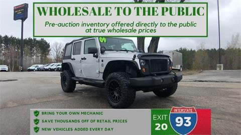 2009 Jeep Wrangler Unlimited for sale in Tilton, NH