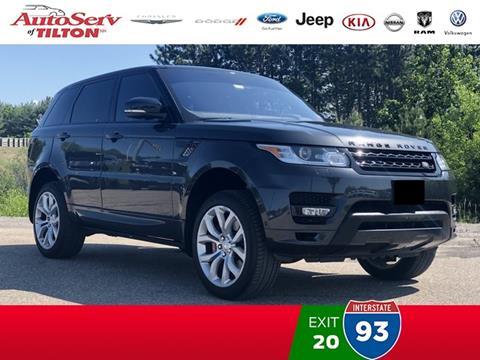2016 Land Rover Range Rover Sport for sale in Tilton, NH