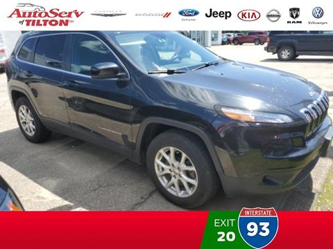 2015 Jeep Cherokee for sale in Tilton, NH