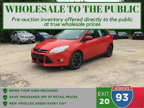 2012 Ford Focus for sale in Tilton, NH