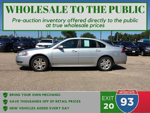 2012 Chevrolet Impala for sale in Tilton, NH